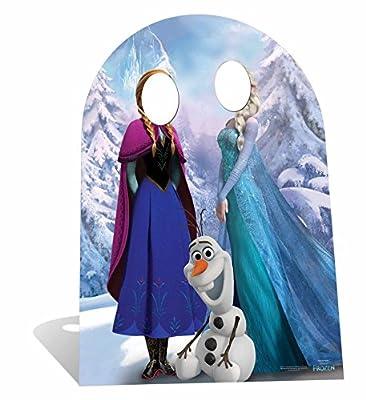 Disney - Decorado de cartón tamaño real para fotos, diseño de Frozen de Star Cutouts Ltd
