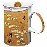 Spuren im Sand - Tasse