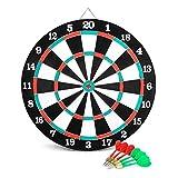noveltiers Tiro a segno con 6 freccette,Tiro al bersaglio con 6 freccette,gioco dei dardi