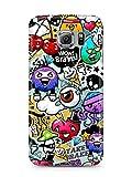 COVER Comic Graffiti Vögel Design Handy Hülle Case 3D-Druck Top-Qualität kratzfest Samsung Galaxy S6