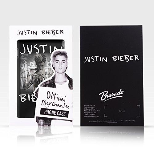 Offizielle Justin Bieber Kalender Schwarz Und Weiss Purpose Ruckseite Hülle für Apple iPhone 5 / 5s / SE Fotokalender