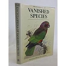 The encyclopedia of vanished species