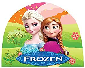 Frozen Queen Elsa & Anna Girls Kids Swimming Caps Hat New Fit for 4-12 Years