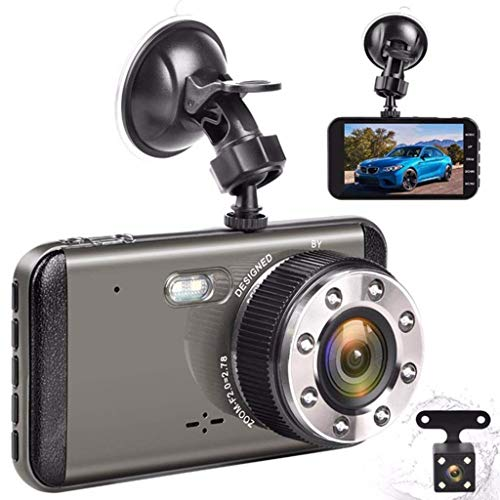 4 \'IPS Dual Lens Armaturenbrett FHD 1080P 170 Grad Instrumententafel Kamera Auto DVR Recorder