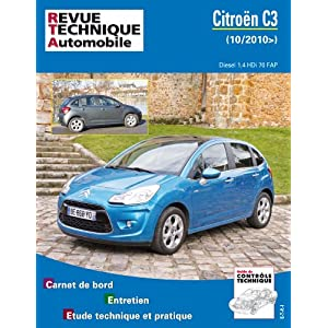 Revue Technique b773 Citroën C3 II