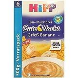 Hipp porridge bonsoir Semoule banane 500g