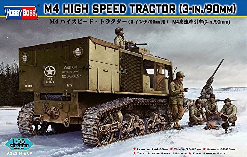 Hobby Boss 82407 Modellbausatz M4 HIGH SPEED TRACTOR(3-in./90mm) Preisvergleich