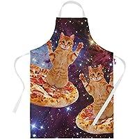 Divertido Delantal para hombre, diseño de estampado Trancio pizza Fast Food#2-Delantales para mujer y hombre, idea para regalo