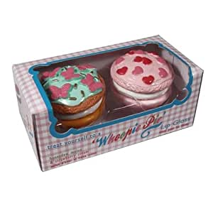 Whoopie Pie Lip Gloss BUTTERFLIES AND HEARTS