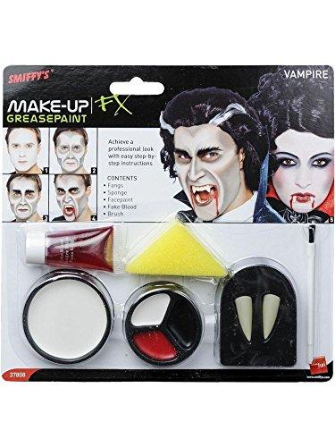 ween FX Make-up-Set Fangs Gesichtsbemalung Fake Blood Fancy Dress ()