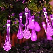 Novaluc Crystal Waterdrop (20 LED Waterdrop Pink)