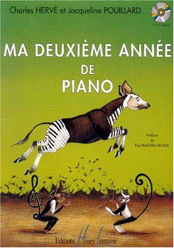 Ma deuxième année de piano : débutants / Charles Hervé et Jacqueline Pouillard... | Hervé, Charles (19..-....). Musicien. Auteur