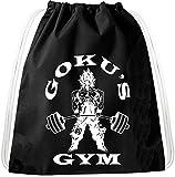 Golds Gym Goku Dragon Rucksack Tasche Turnbeutel Sport Jute Beutel, Rucksack