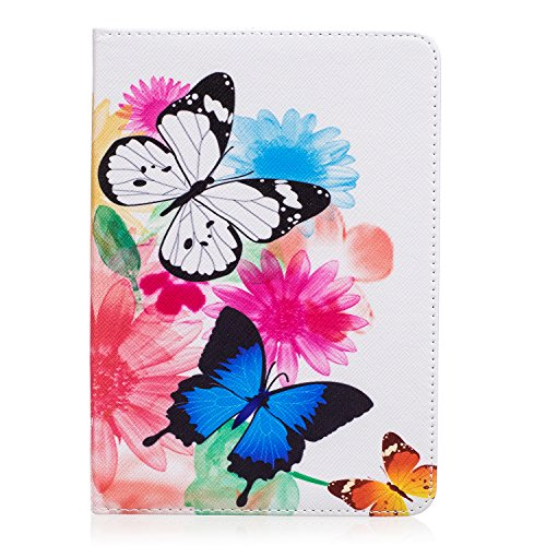Kindle Fall Butterfly (Kindle Paperwhite Case , Light and Thin Leather Kindle Case Smart Case Cover Stand Auto Wake/Sleep Function Kcdream Protective PU Cover Case High Quality Dustproof Waterproof Protective Case for Kindle Paperwhite 2012 2013 2014 2015 6.0 Pouces leggera Case Kindle Accessories - Butterfly)