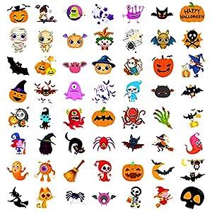Qpout Tatuajes Temporales de Halloween