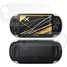 atFoliX Película Protectora Sony PlayStation Vita Lámina Protectora de Pantalla - Set de 3 - FX-Antireflex anti-reflectante