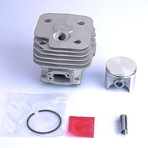 HIPA 52mm Kit Cylindre Piston pour Tronçonneuse Husqvarna 61 268 272 272K 272XP