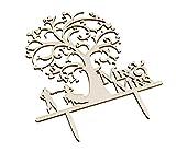 Materiale: legnoAltezza: circa 16.8cmLarghezza: circa 14cmcake topper legno delicatedPerfetto per matrimonio, fidanzamento, compleanno, festa o anniversarioAlta qualità e leggeroWedding cake topper personalizzato. Nota:dal momento che la di...