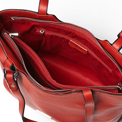 Cherry Paris- brussels- sacchetto piccolo cabas- Donna nero