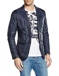 dirk bikkembergs - Jacket Blue Navy,  pack, Chaqueta Hombre