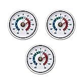 Lantelme Kühlschrankthermometer Set silber 5449