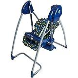 Splendide Chaise Haute + Balancelle mélodie électrique bleumarine Homey