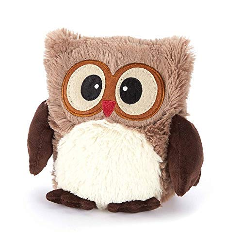 Hooty Brown Heatable Owl