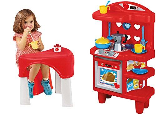 Unogiochi 1564Bialetti Kleiner Tisch mit Küche Spielset