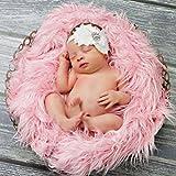Ouneed® Mat photographique/Nouveau-né Props Écharpe photo de bébé Props Photographie Quilt Mat Photographique