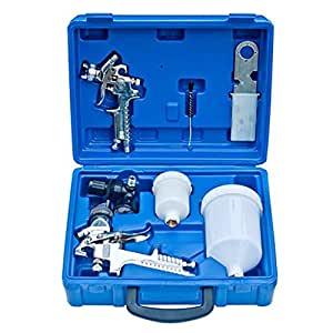 Kit de pistolets de peinture 1,4 et 0,8mm coffret incl