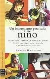 Un instrumento para cada niño: Un libro muy útil para iniciar y desarrollar el aprendizaje musical en los niños.