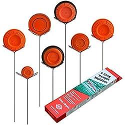 Clay Pigeon Target (7unidades)–se adapta a cualquier Clay Targets–fabricado en EE. UU.