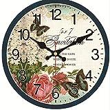 dufgbiRuhiges Zuhause Design Uhr Home Office Studie Wanddekoration Küche Wanduhr Große Wandkunst Uhr, A3