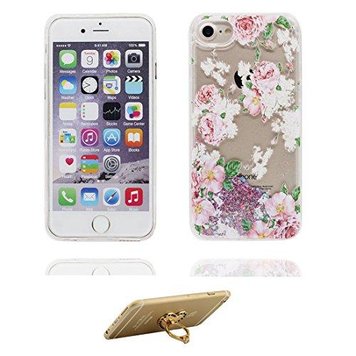 """iPhone 6S Plus Coque, (fée) Skin étui iPhone 6 Plus / 6S Plus 5.5"""", Design Glitter Bling Sparkles Shinny Flowing iPhone 6 Plus Case 5.5"""" résistant aux chocs & ring Support # 1"""