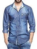 Lafantar Men's Casual Shirt (dms45-xl_Bl...