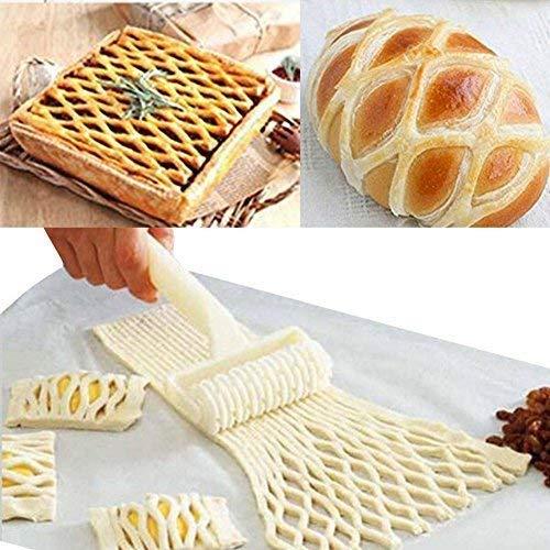 a-goo Pizza Maker Pizza Teig Roller Gitter Roller Ei Tart Form Fondant Roller Pizza Peel Kuchen Ball Roller Fondant Cutter Streifen Formstanzer Roller Rad Set Sugarcraft Kuchen, DIY Form (Ei-form Kuchen-form)