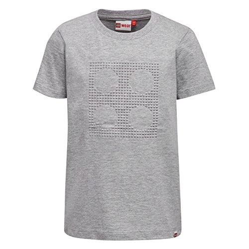 Lego Wear Jungen T-Shirt Lego Boy Thomas 104-T-SHIRT, Grau (Grey Melange 924), 122 Preisvergleich