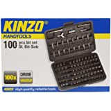 Kinzo 72043 100 Embouts de visserie dans boitier