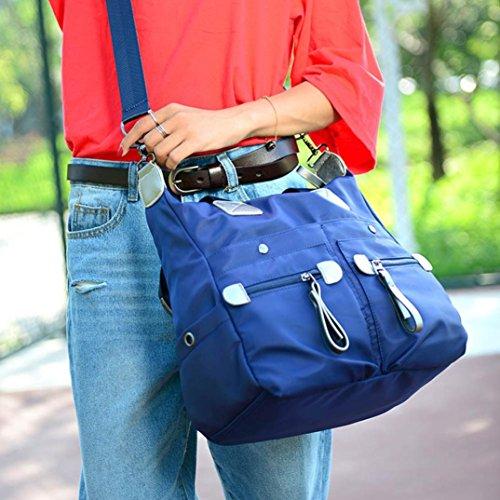 Malloom® Moda Elegante Semplicità Impermeabile Borsa A Tracolla Blu