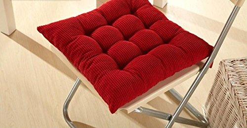 JY® $ ZB Coussin rembourré en velours côtelé avec housses Chaise de salle à manger rembourré