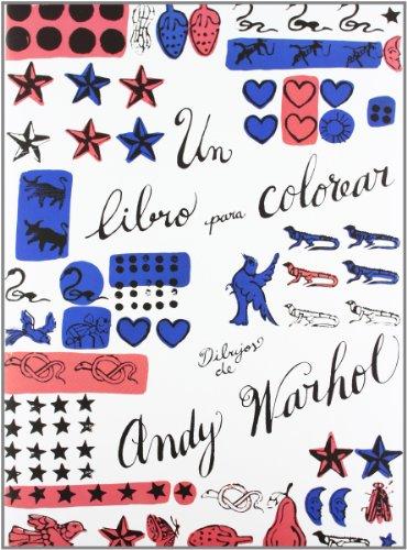 Portada del libro Un libro para colorear. Dibujos de Andy Warhol (Los cuentos de la cometa)