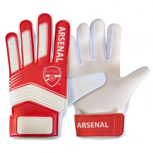 Arsenal FC Unisex ar04818Spike Torwart Handschuhe Youth, Mehrfarbig -