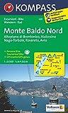 Monte Baldo Nord 1 : 25 000 (KOMPASS-Wanderkarten, Band 691)