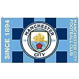 #6: Manchester City F.C. Flag BW