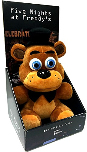 Five Nights At Freddys - Freddy Fazbear Plush - Boxed - Officially Licensed - 25cm 10""