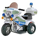 6V Battery Operated Police Patrol Trike with Siren