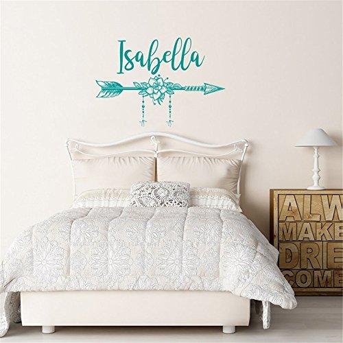 Schlafzimmer Von Isabella (Wandaufkleber Schlafzimmer Vinyl Peel and Stick Mural Wall Sticker Decals for Room Home Isabella Arrow)