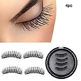 Yidarton Magnetic False Eyelashes Reusable Fake Eyelashes Natural Eye Lashes Full Cover Eyelashes 2.6cm/3.2cm(24p)
