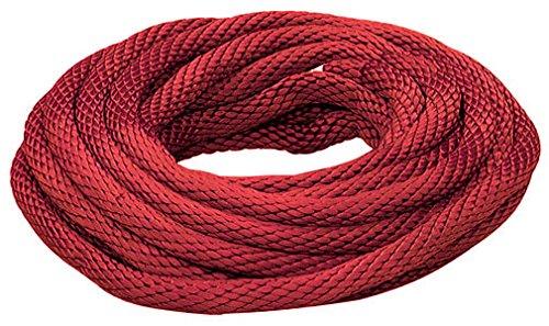 Groupe Lehigh .50 po X 35 pi. Red polypropyl-ne solide Braid Multifilament Derby Rope R