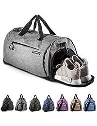 Fitgriff® Sporttasche Reisetasche mit Schuhfach & Nassfach - Männer & Frauen Fitnesstasche - Tasche für Sport, Fitness, Gym - Travel Bag & Duffel Bag